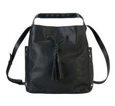 Sac bourse Saxo Gerard Darel noir Drawstring Backpack, Gym Bag, Backpacks, Bags, Gerard Darel, Black People, Handbags, Backpack, Backpacker