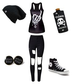 """Untitled #50"" by piper-staunton on Polyvore featuring WithChic, Converse and Valfré"