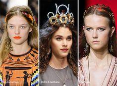 Spring/ Summer 2017 Hair Accessory Trends: Headbands & Tiaras