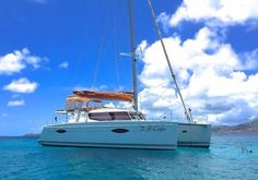 S/Y R-S-Cape, a modern, family catamaran that excels in fishing