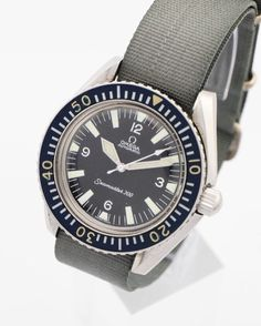 """Beautiful Omega SEAMASTER 300 diving watch made in the 60ies. Stainless steel case with screw back and black bezel, waterproof 200m. Automatic caliber 550. Museum´s piece. Also pictured in Omega book """"A journey through time"""" by Marco Richon, page 324.  Find more details at our website, watch-time ID 2294. #omega #omegawatches  #watch #seamaster  #300 #diving #diver"""