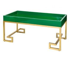 Conrad Green Cocktail Table