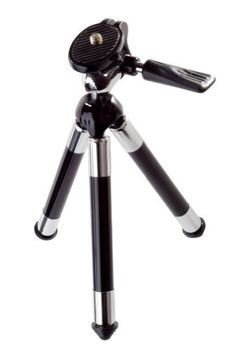 3M PT05B Tripod for 120/150/160/180/220/225a/CP40/CP45 Mobile Projectors  (Black/Silver) by 3M. $22.62. The 3M Tripod provides sturdy support for your projector and image. Works with all 3M Mobile Projectors. It's a snap to set up and offers that little extra support you need. Mini 360 degree ball-head for easy alignment. Mount your mobile projector and move it in any direction for the perfect view. Extendable legs up to 12-Inch. Quickly adjust the height to your liking with the...