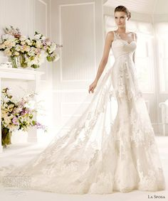 la sposa wedding dresses 2013 bridal costura master wedding dress