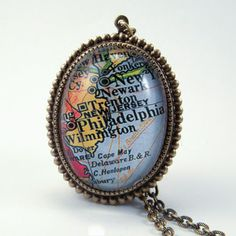 Old Philadelphia Necklace now featured on Fab.