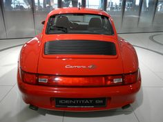A very pretty Guards Red Porsche 993 Carrera 4S #everyday993 #Porsche