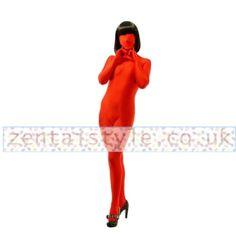 Eye Catching Full Body Blood Red Lycra Spandex Back Zipper Zentai Suit [TWL111220063] - £31.79 : Zentai, Sexy Lingerie, Zentai Suit, Chemise