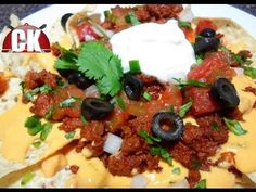 Nachos with Spicy Beef - Easy Cooking!