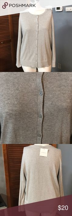 Silver glitter cardigan PRODUCT FEATURES Button front Long sleeves Ribbed trim FABRIC & CARE Cotton, rayon Machine wash Imported croft & barrow Sweaters Cardigans