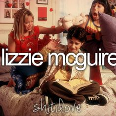 Lizzie McGuire! Used to be obsessed with this show when I was little, I saw every episode!