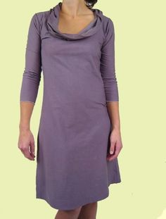 Organic Cotton Everyday Dress. $98.00, via Etsy. by consciousclothing