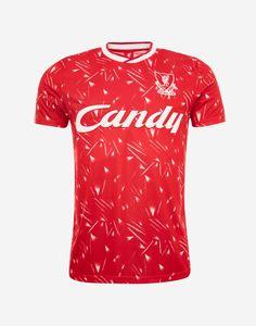Liverpool Fc Shirt, Camisa Liverpool, Liverpool Kit, Retro Shirts, Cheap Shirts, Classic Football Shirts, Classic Candy, Retro Candy, Soccer Kits