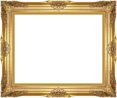 Museum Quality Majestic Gold Wood Picture Frame Ready-made Canvas Art Paintings #accentsnart #Traditional