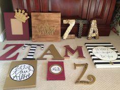 Zeta tau alpha big little reveal crafts