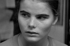 """Mariel Hemingway - looks like a still from 'Manhattan"""" when Woody's character asks her to stay in NY"""