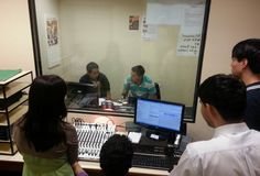 Laboratorio de Radio.