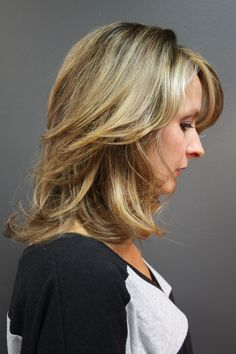 Color, cut, and style by Jackie