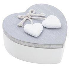 boite cœur en bois   Boite à bijoux en bois coeur couvercle pivotant - Achat / Vente boite ...