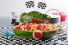 NASCAR® Race Car Watermelon #toocute #watermelon