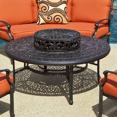 Kaleidoscope Chat Fire Pit Table | WoodlandDirect.com: Outdoor, Outdoor Fireplaces, Fire Pits - Wood Burning