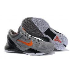 Neue Ankunft Nike Zoom Kobe VII Männer Schuhe Grau Rot Schuhe Online | Kaufen Nike Kobe Schuhe Online | Nike Schuhe Online Geschäft | schuheoutlet.net