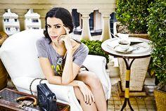 Camila Coutinho do blog Garotas Estúpidas usa Colar Amelie Branco