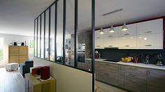 La cuisine ouverte par Lo Architectes