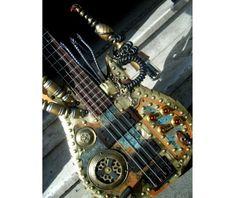 23 proyectos de guitarras steampunk para los fanáticos de esta corriente.