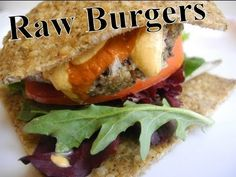 Raw Vegan Recipes For Kids - Burgers (Best burgers on earth!) Share, Repin, Like Thankx :)