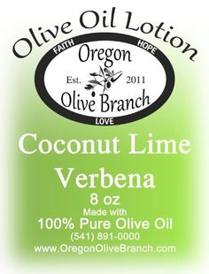 Olive Oil Lotion Pump 8 Oz 240 Ml Coconut Lime Verbena -- Visit the image link more details.