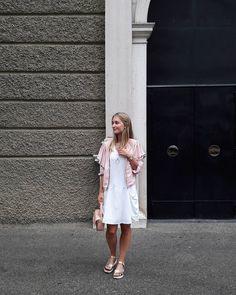 White Dress, Shirts, Dresses, Fashion, Vestidos, Moda, Fashion Styles, Dress, Dress Shirts