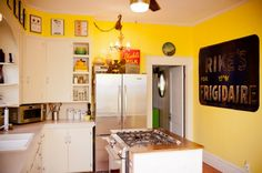 This could be our small kitchen with an island stove