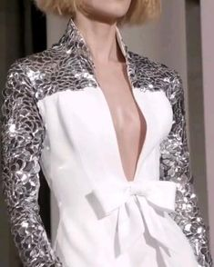Couture Collection, Designer Collection, Leather Armor, Leather Sleeves, Georges Chakra, Ralph And Russo, Fashion Videos, Ready To Wear, Video Library