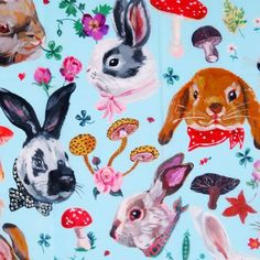 Animal Graphic, Graphic Art, Colorful Paintings, Outsider Art, Cute Bunny, Painting Patterns, Woodland Animals, Art Inspo, Pop Art