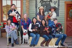 Rescued Michael Vick dogs reunited 5 years later. These seven dogs have made a remarkable comeback. All seven have Canine Good Citizen certificates. Three of them serve as therapy dogs in hospitals and children's literacy programs. Click to see photos.