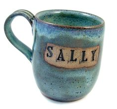 I like this mug because of its rustic look and i think it is cool how it is personalized with a name