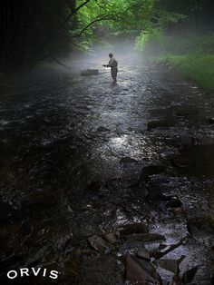 Orvis Fly Fishing Contest - early morning by Orvis Fly Fishing Photo Contest, via Flickr