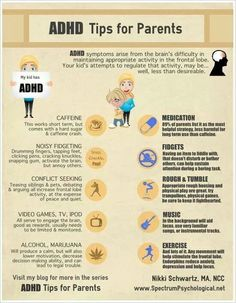 ADHD tips for parents.. because my offspring will most likely inherit this disorder from me.