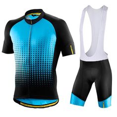 2017 Blue Cycling Jersey Mountain Bicycle Maillot Cycling Ciclismo Clothing  BIB Shorts Sets 3c4c82d0a