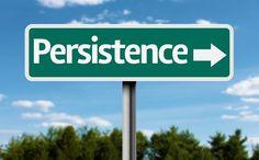 """A persistência é a chave para alcançar o sucesso. As pessoas de sucesso têm demostrado para nós que qualquer um pode conseguir qualquer coisa que quiser, desde que a pessoa se esforce o suficiente. """"Mas quanto esforço é esforço o suficiente?"""""""