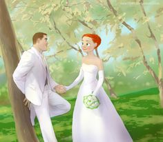 omg its jessie and buzz's wedding! Lol I would've never thought of that