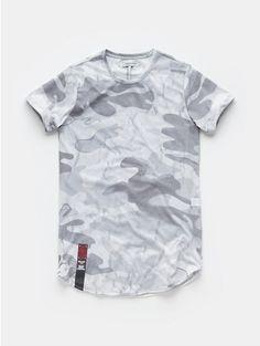 Print T-shirt Grey - The Sting Print T Shirts, Tee Shirts, Mens Fashion Wear, Fashion Outfits, Tee Shirt Designs, Mens Clothing Styles, Cool T Shirts, Men Casual, Menswear
