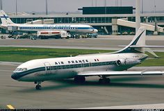 F-BHRA Sud SE-210 Caravelle III Air France. Photo by Steve Fitzgerald