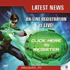 Dc World, Online Registration, April 11, All Star, Slot, Ph, Dc Comics, Hold On, Celebration