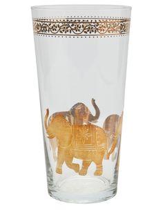 elephant highball glass