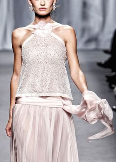 Chanel S/S 2011 Couture - 1920s silhouette with a late 60s style yoke