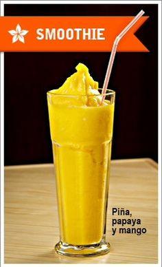 Disfruta del verano acompañado de un buen smoothie  #doblecremacafe