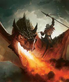 Dragon Warrior, Dragon Knight, Dragon Rider, Fantasy Warrior, Warrior 2, Dragon Slayer, Fantasy Artwork, Magic The Gathering, Fantasy Creatures