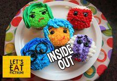 INSIDE OUT Cupcakes - Let's Eat Fiction!