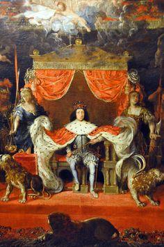 King Christian V, Rosenborg Castle - Copenhagen